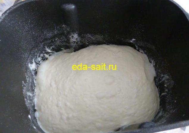 Дрожжевое тесто для пирожков с вишней