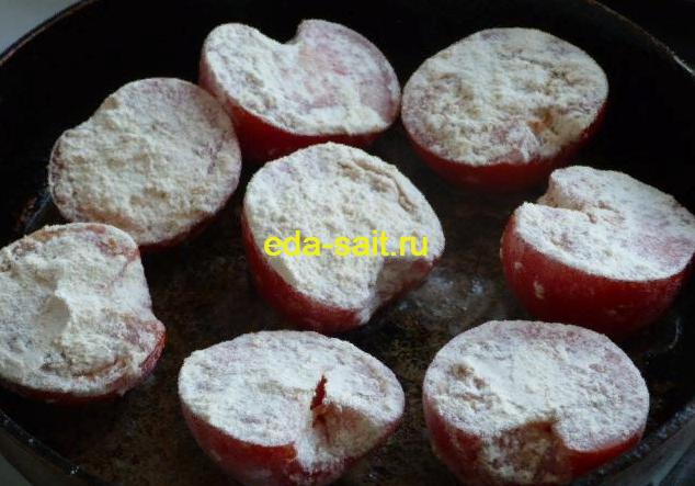 Вермишель с помидорами и сыром