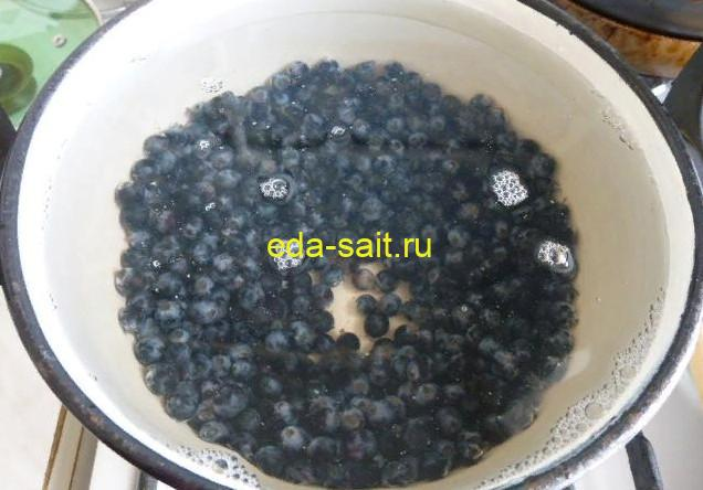 Варим компот из черного винограда