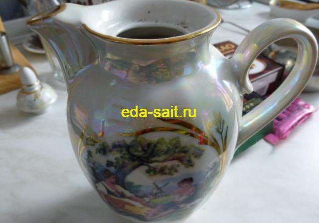 Завариваем кофе с корицей и какао