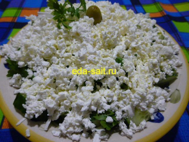 Болгарский шопский салат пошаговый рецепт с фото