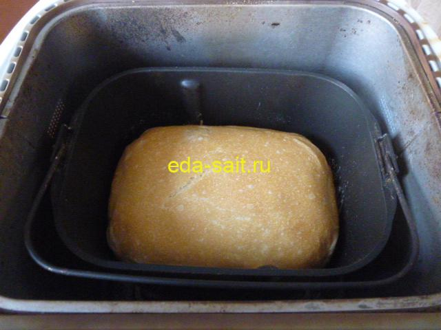 Французский хлеб в хлебопечке фото