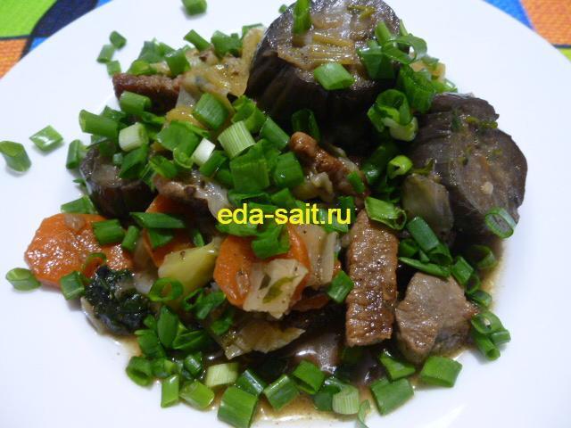 Говядина с овощами фото