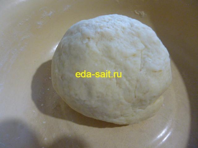Луковый пирог с сыром тесто