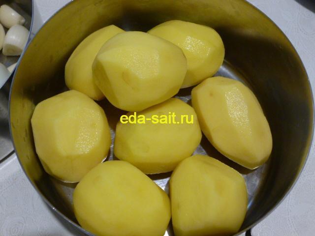 Почистить картошку для похлебки