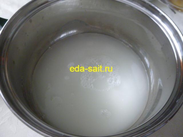 Сыворотка из свернувшегося молока