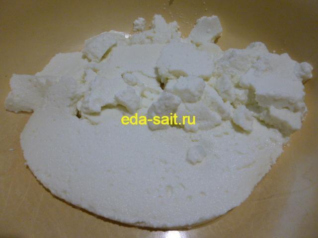 Творог из свернувшегося молока фото