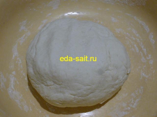 Творожное тесто из свернувшегося молока