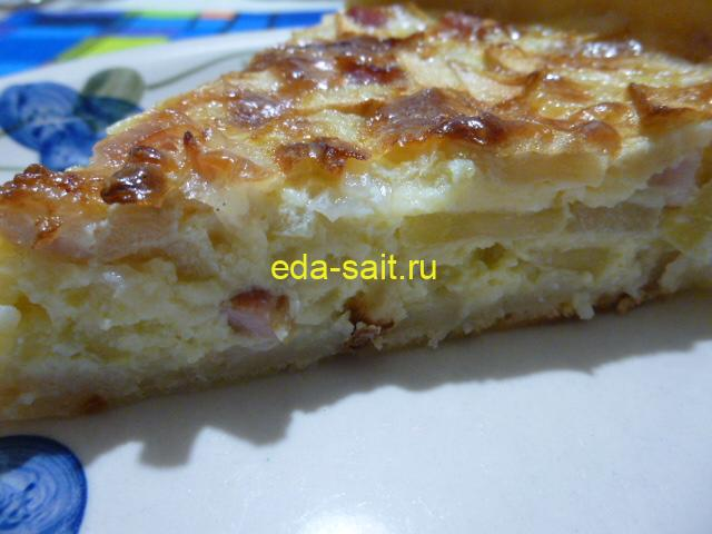 Вкуснейший пирог с яблоками