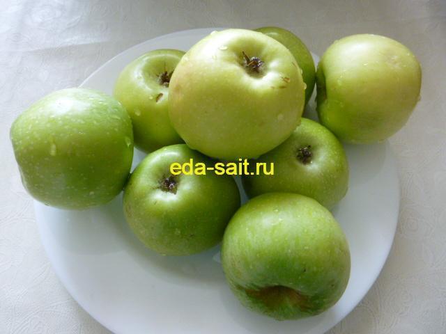 Яблоки для фарширования утки