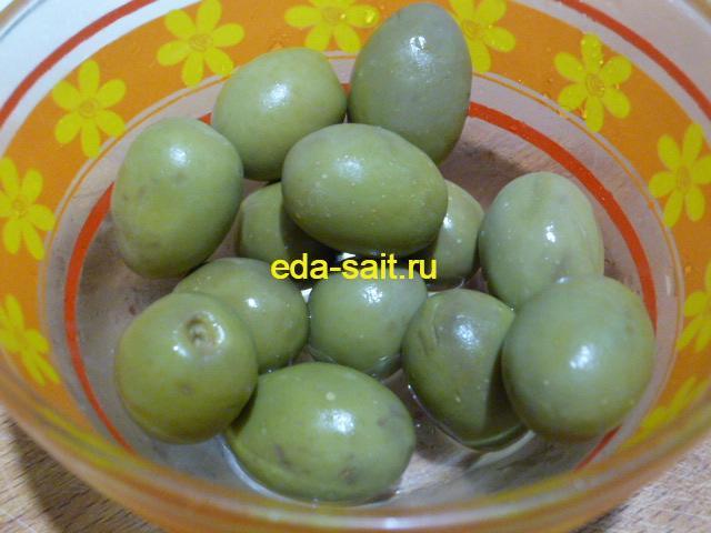 Оливки для рыбной солянки