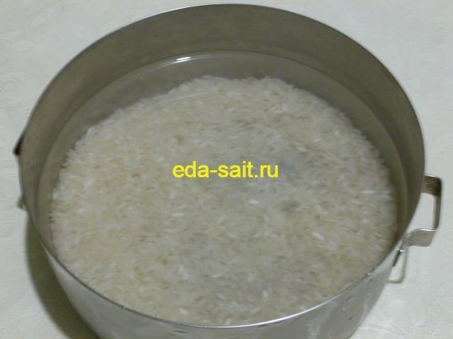 Промыть рис для кутьи