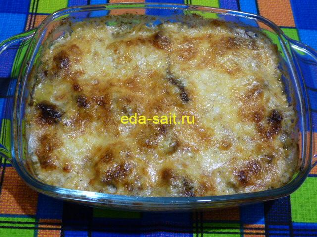 Говядина с сыром и луком фото