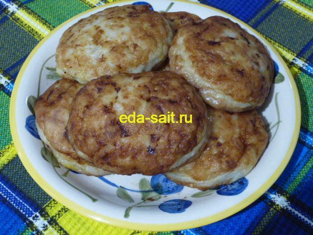 Котлеты из пангасиуса