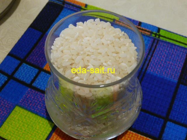 Рис для роллов с огурцом и сыром