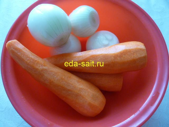 Лук и морковь для нахудшурака
