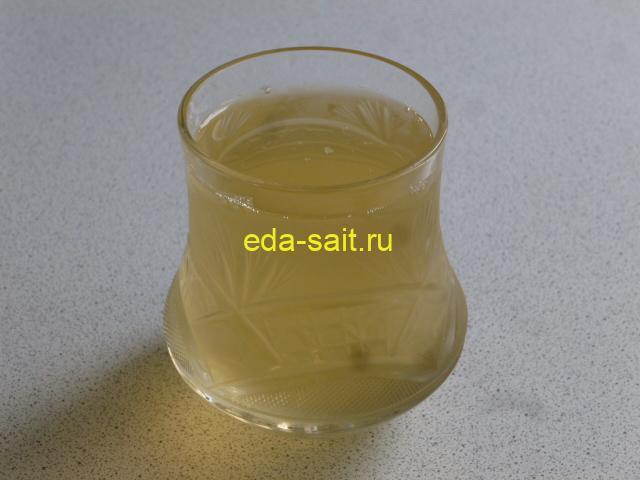 Напиток из меда и уксуса фото
