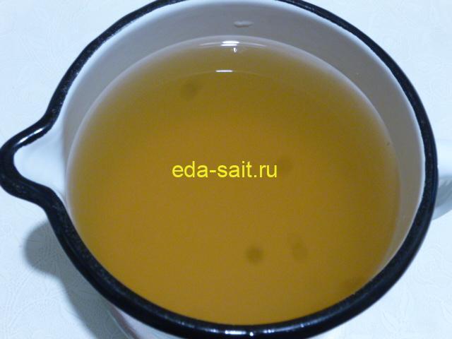Напиток из меда и уксуса с водой