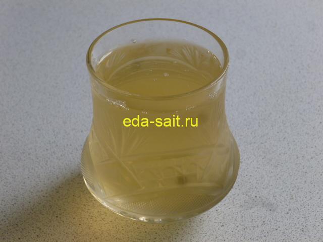 Напиток из меда и уксуса как приготовить