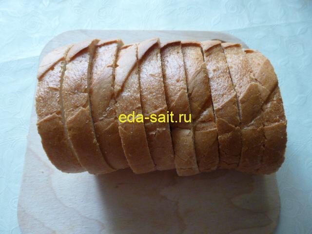 Батон для бутербродов с килькой
