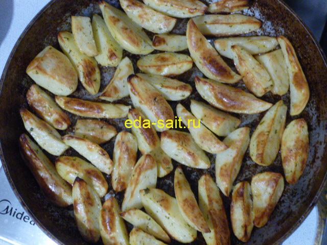 Картошка с грибами по деревенски как приготовить