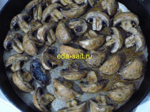 Картошка с грибами по деревенски пошаговый рецепт с фото