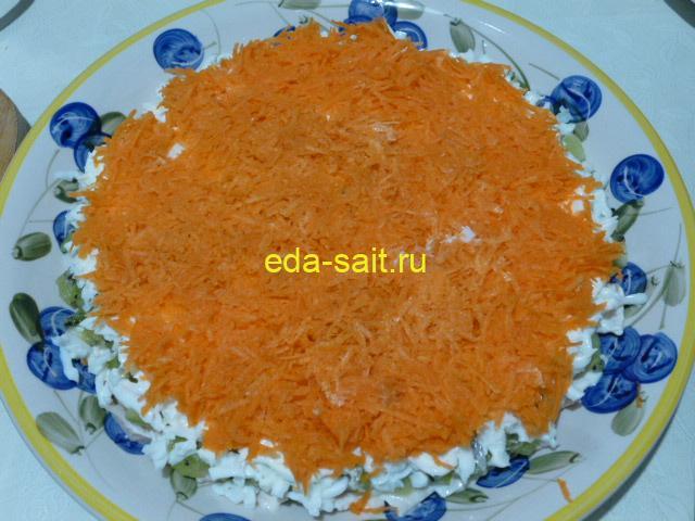 Морковь в салат изумрудный