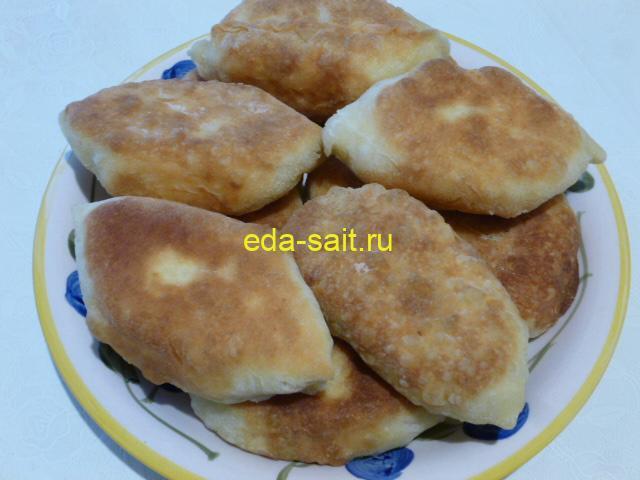 Пирожки из картофельного теста фото