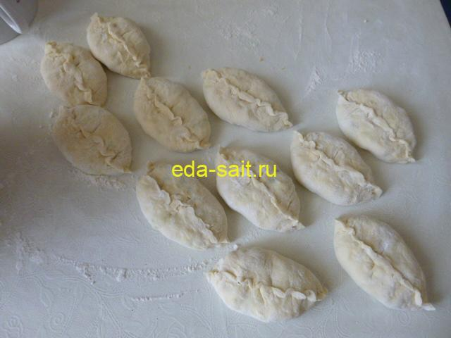 Пирожки из картофельного теста