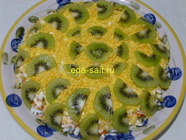 Салат изумрудный пошаговый рецепт с фото