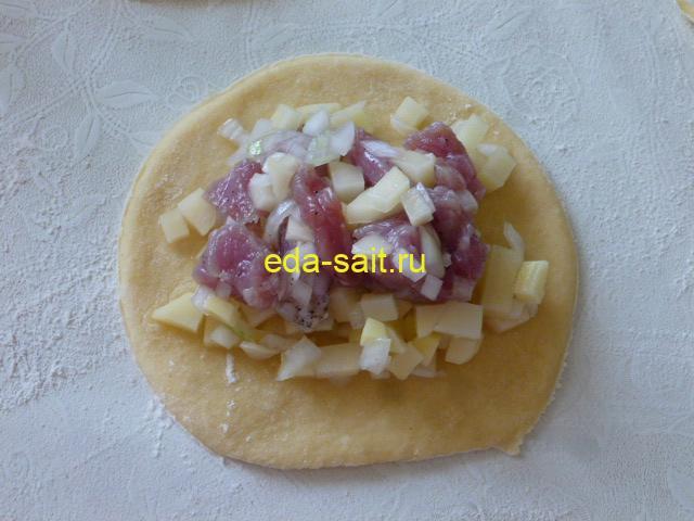Курники с говядиной пошаговый рецепт с фото