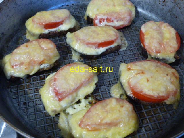 Бутерброды из черного хлеба пошаговый рецепт с фото