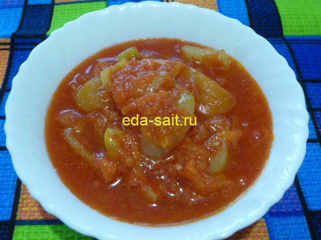 Лечо на зиму с помидорами, перцем и морковью фото