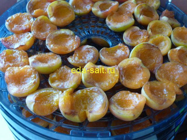 Сушеные абрикосы через 4 часа