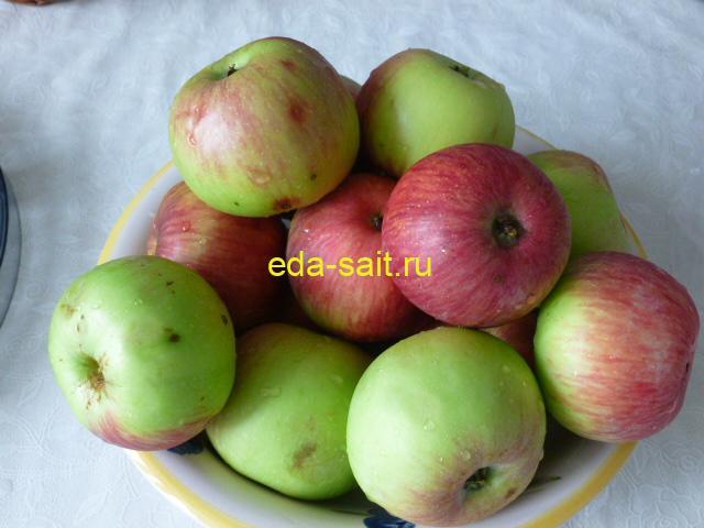 Яблоки для сушки в электросушилке