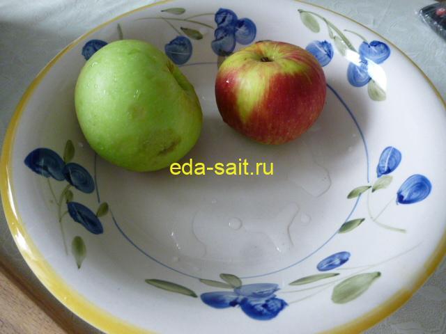 Яблоки которые не уместились на поддоны