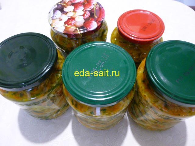 Салат с капустой, огурцами и овощами пошаговый рецепт с фото