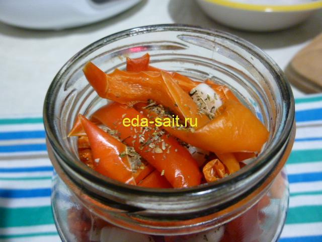 Вяленый болгарский перец пошаговый рецепт с фото
